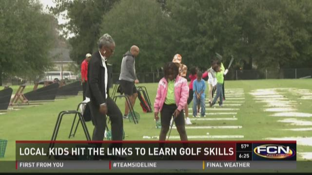 Local kids hit the links to learn...