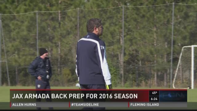 The Jacksonville Armada has begun their 2016 training camp