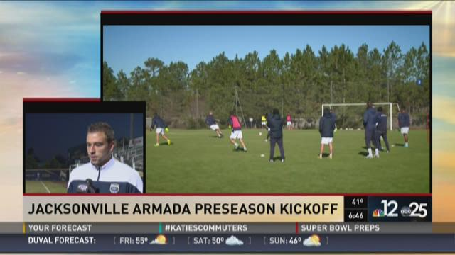 Matt Bahner on Jacksonville Armada preseason kickoff