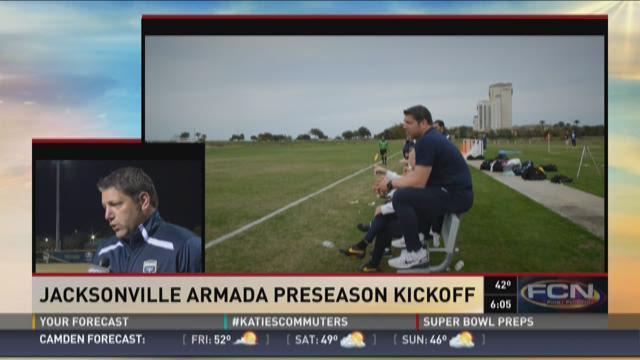 Tony Meola on Jacksonville Armada's preseason kickoff