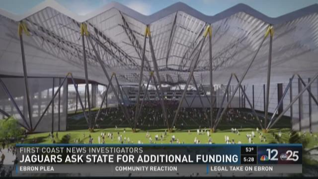 Jaguars ask state for additional funding