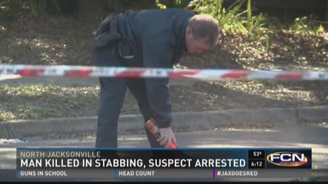 JSO: Man killed in stabbing, suspect in custody
