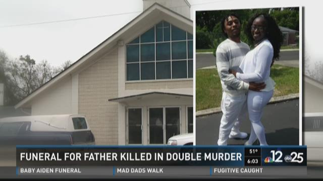 Funeral for father killed in double-murder