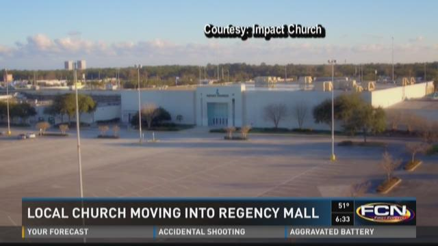 Local church moving into Regency Mall
