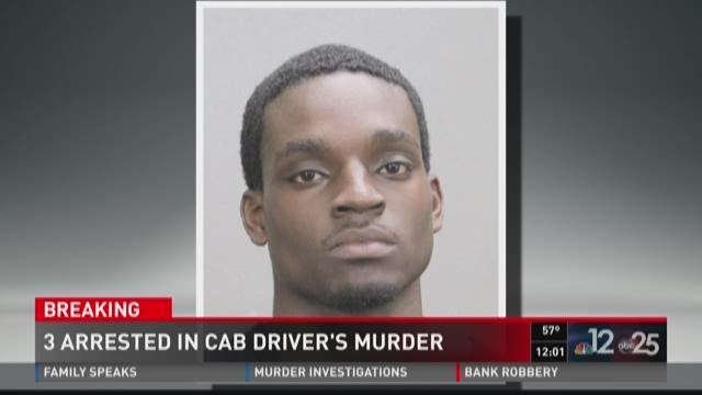 JSO: 3 arrested in cab driver's murder