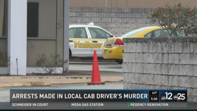 Arrests made in local cab driver's murder
