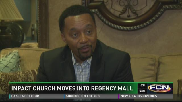 Impact Church moves into Regency Mall