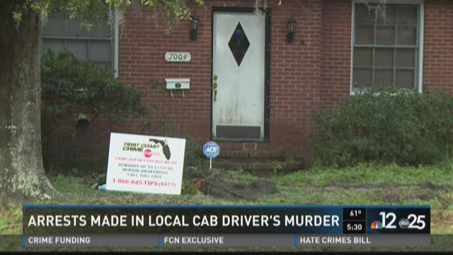 3 arrested in cab driver's murder