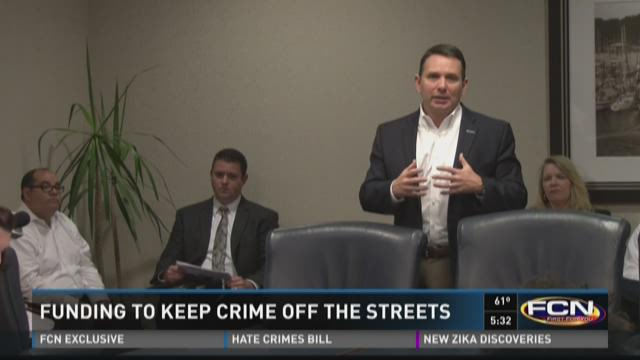Funding to keep crime off the streets