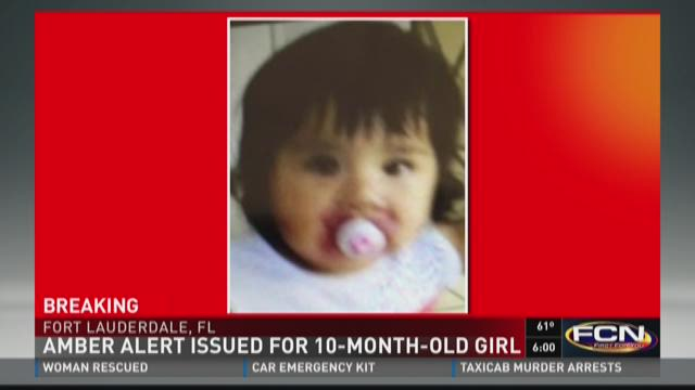 AMBER Alert issued for 10-month-old girl