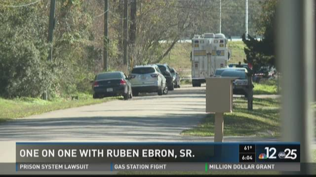 One on one with Ruben Ebron Sr.