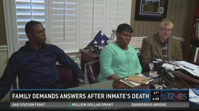 Family demands answers after inmate's death