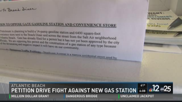 Petition drive fight against new gas station