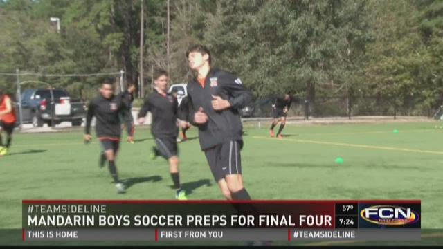 Mustangs boys soccer preps for state final four