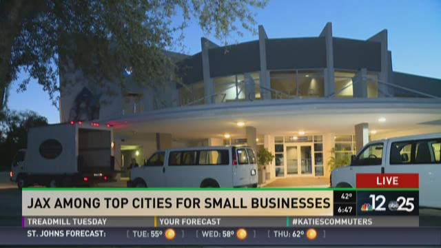 Study: Jax among top cities for small businesses