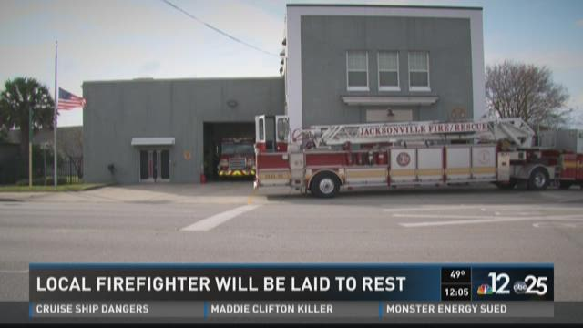 Local firefighter will be laid to rest Wednesday