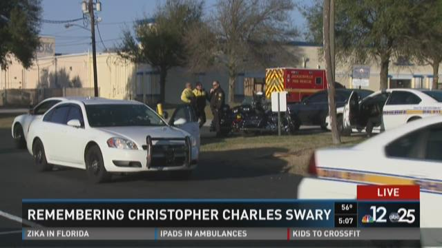Remembering Christopher Charles Swary