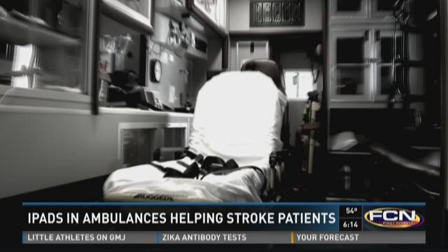 iPads in ambulances helping patients in Brantley County