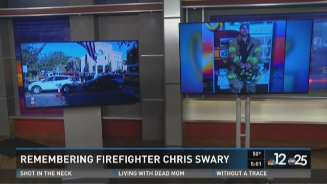 Remembering firefighter Chris Swary