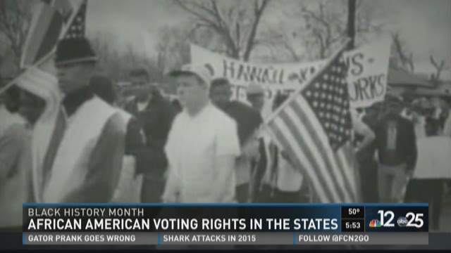 African American voting rights in the states