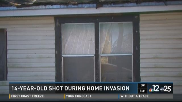 14-year-old shot in Lake City home invasion