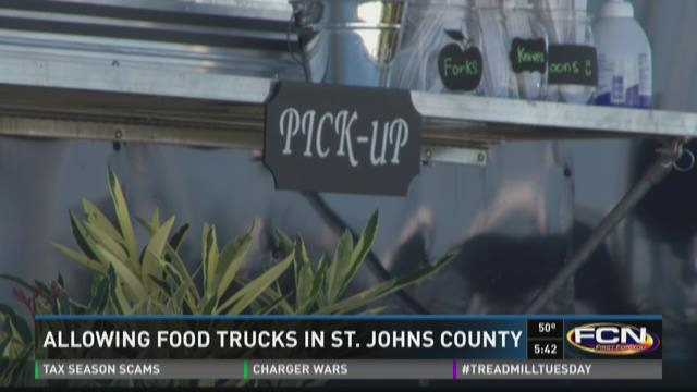 Should food trucks be allowed in St. Johns County?
