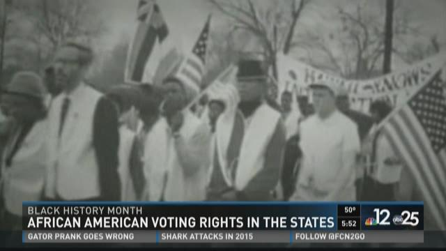 African American voting rights in the U.S.