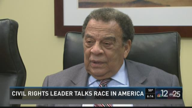 Civil rights leader talks race in America during Jacksonville visit