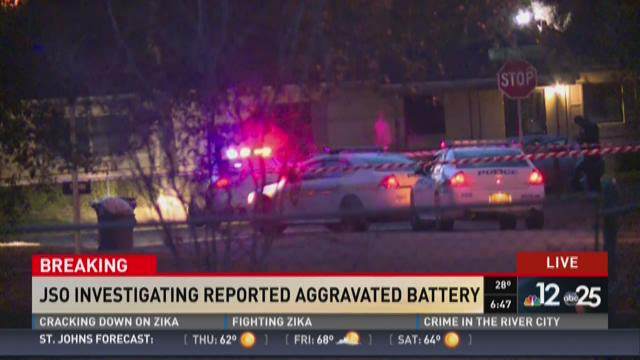 JSO investigating aggravated battery