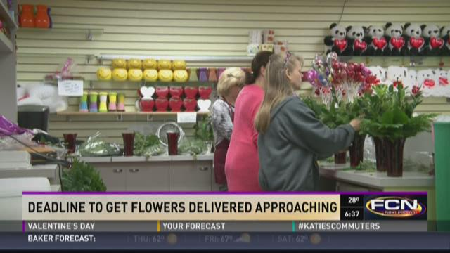 Deadline to order flowers for Valentine's Day delivery approaching