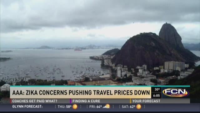 AAA: Zika concerns pushing travel prices down
