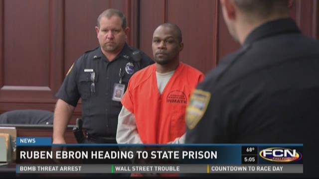 Ruben Ebron heading to state prison