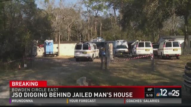 JSO digging behind jailed man's house