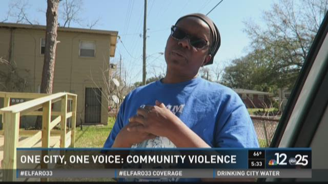 One city, one voice: Community violence