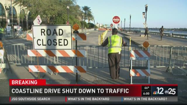 City closes Coastline Drive for safety reasons