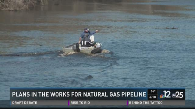 Plans in the works for natural gas pipeline