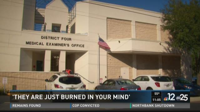 Medical Examiner: 'They are just burned in your mind'