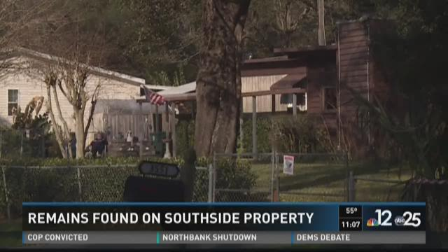JSO: Human remains found on Southside property