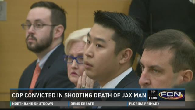 Cop convicted in shooting death of Jacksonville man