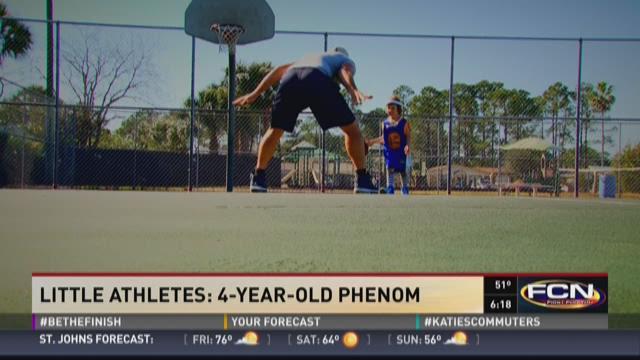 Little Athletes: 4-year-old phenom
