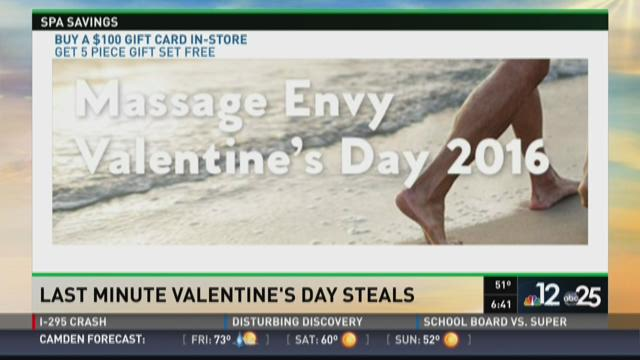 Last-minute Valentine's Day steals