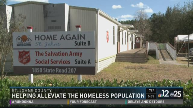 Work underway to reduce St. Johns County homeless population