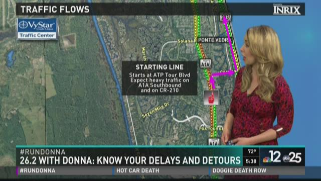 26.2 with Donna: Know your delays and detours