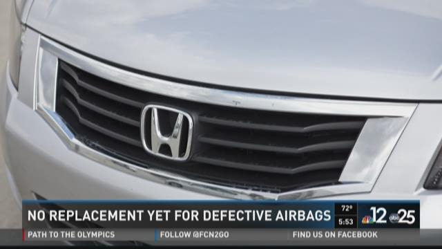 No replacement yet for defective airbags