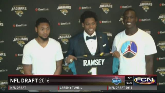 Press conference coverage with Jalen Ramsey