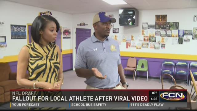 Fallout for local athlete after viral video