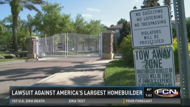 Lawsuit against America's largest homebuilding