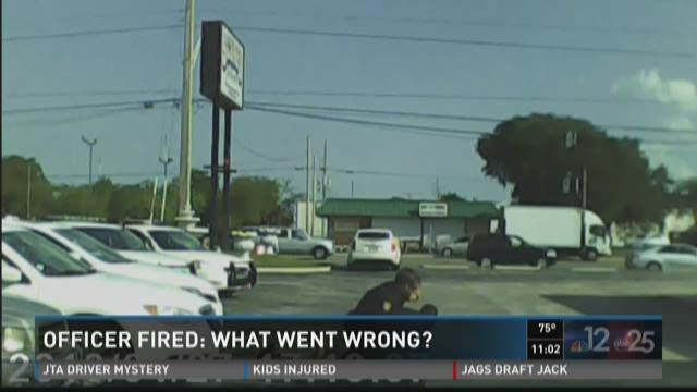 Officer fired: What went wrong?