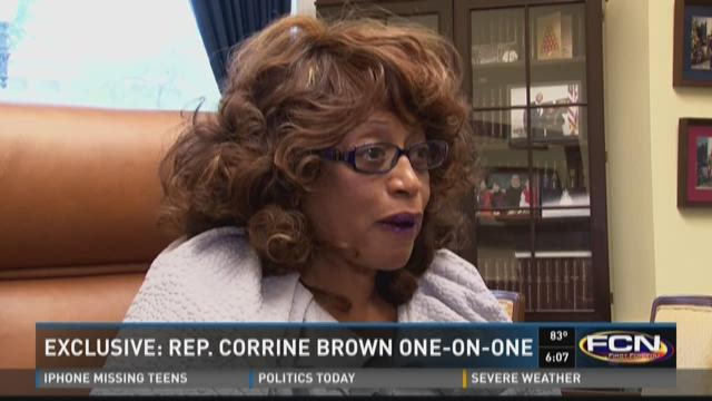 Exclusive: Rep. Corrine Brown one-on-one