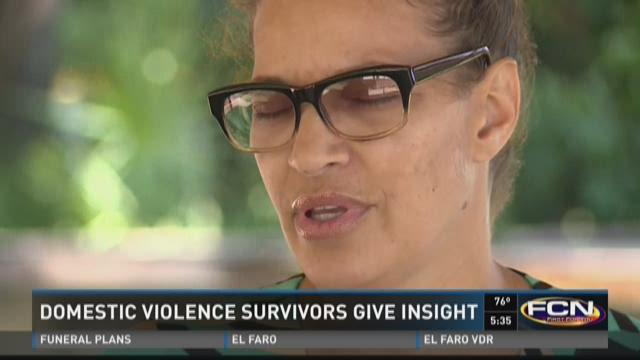 Domestic violence survivors give insight